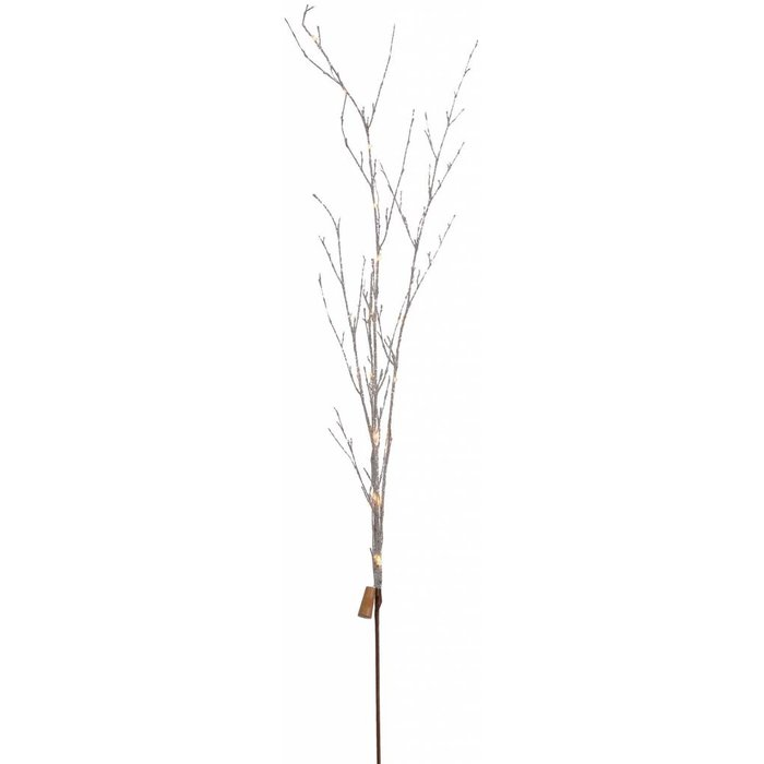 Glitter Twig Branch White 55""
