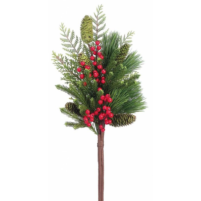Berry Cone Pine Bundle 27""