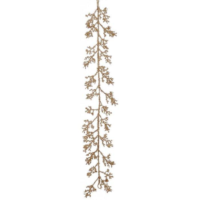 Glitter Twig Garland 5'