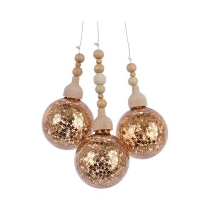 Brass Gold Bauble