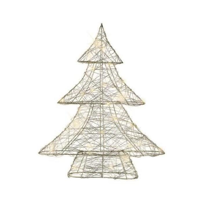 Micro LED Wire Tree 30L Warm White
