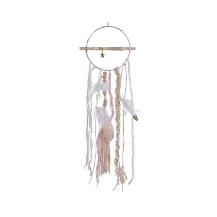 Dreamcatcher With Iron Star Blush Pink