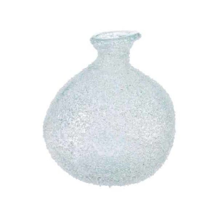 """Recycled Glass Bottle Ice Finish 6.5"""" x 7"""""""