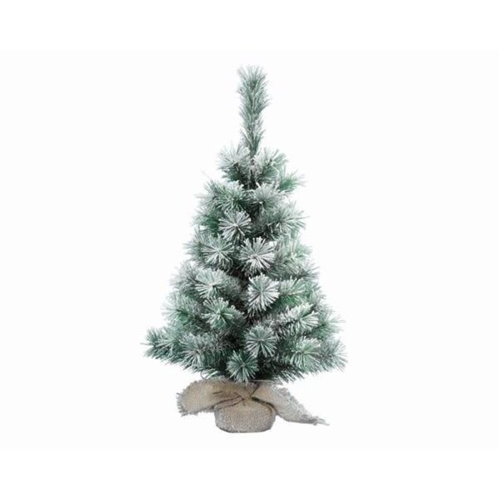 Snowy Vancouver Mini Tree Green and White 2ft