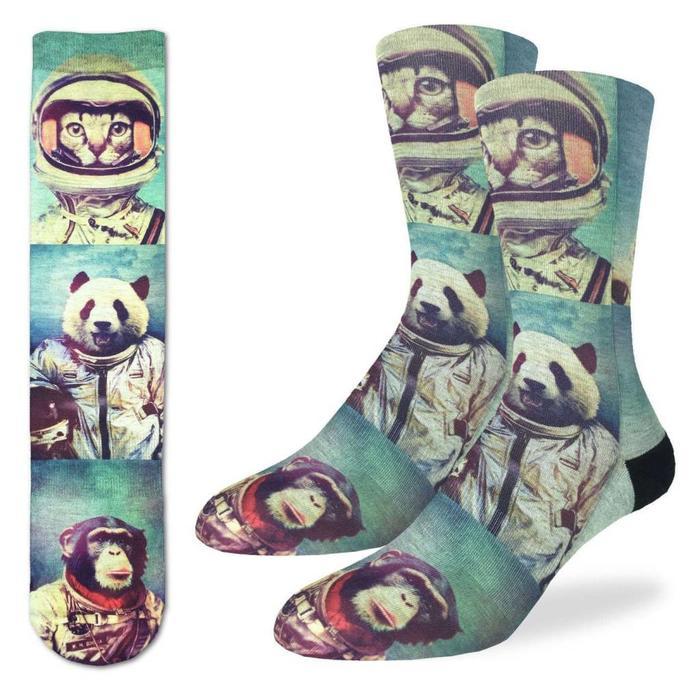 Men's Animal Astronauts Socks