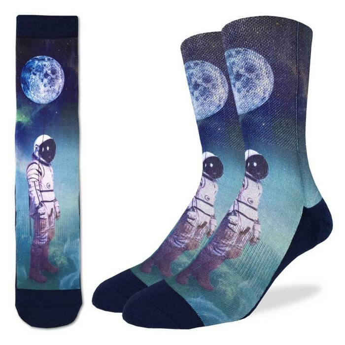 Men's Astronaut With Balloon Socks
