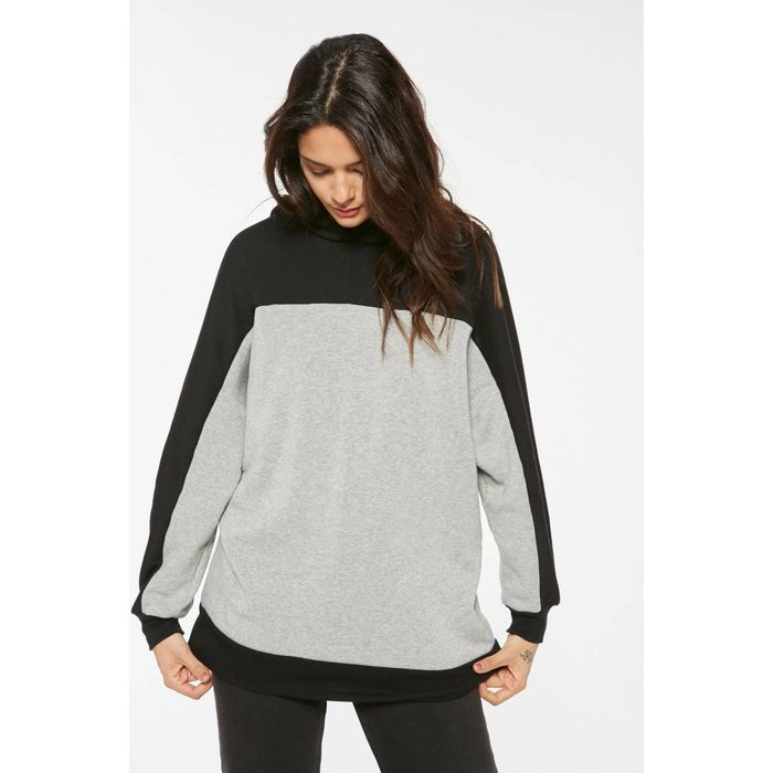 Smith Oversized Colorblock Hoodie