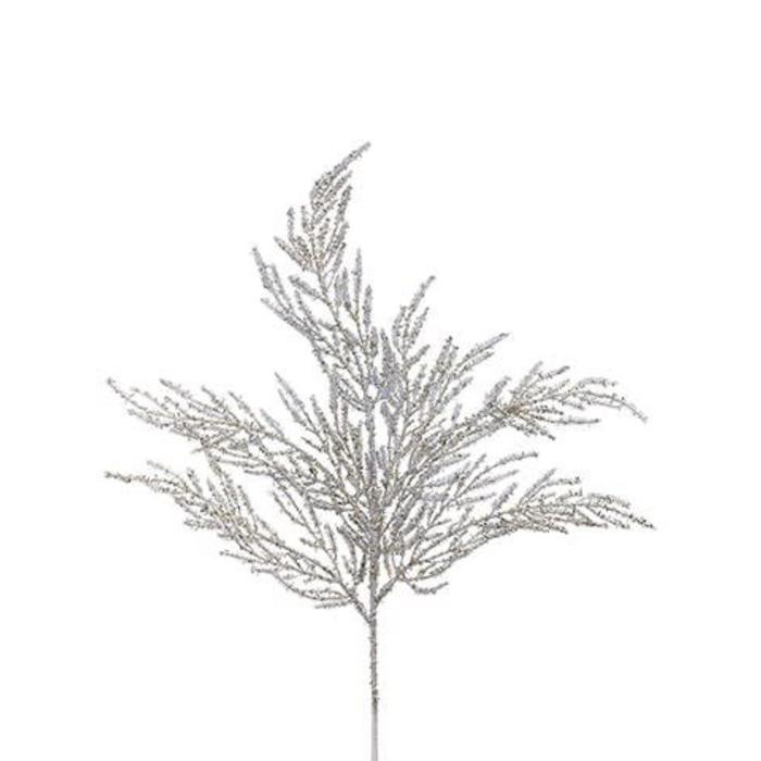 Glitter Cypress Spray 26""