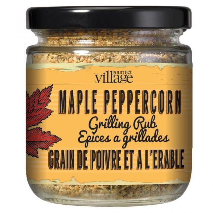 Seasoning in a Jar Maple Peppercorn