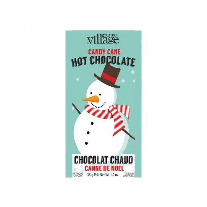 Mini Hot Chocolate Retro Snowman