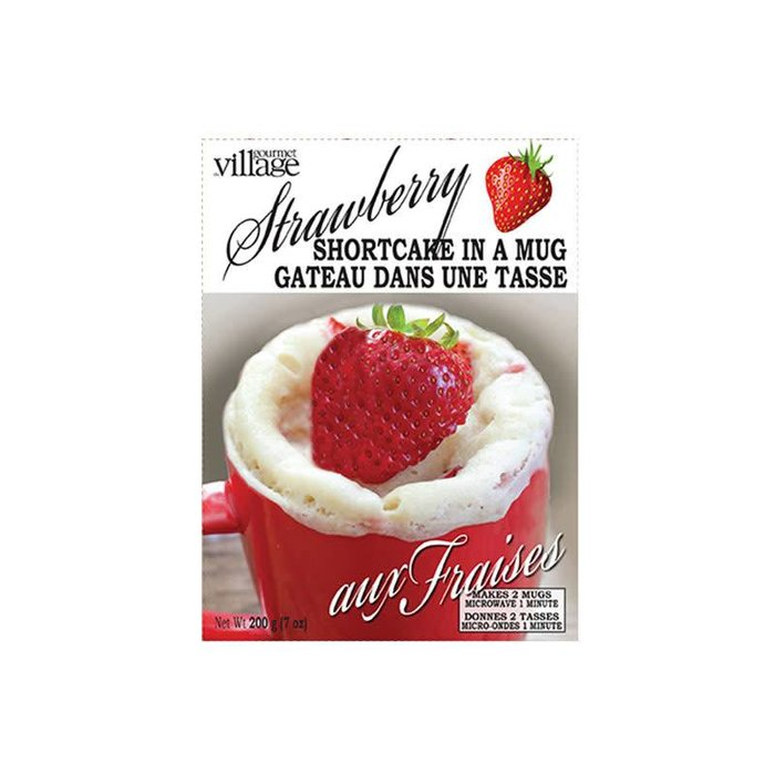 Bakery Mix Cake in a Mug Strawberry