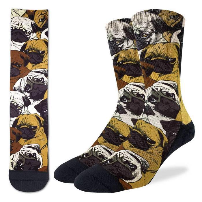 Men's Social Pugs Socks