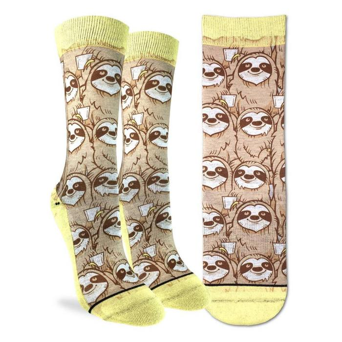 Women's Coffee Sloth Socks