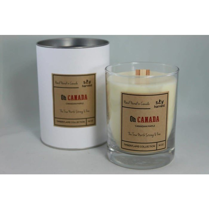 Oh Canada Timberflame Candle