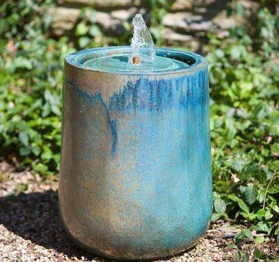 Glazed Daralis Glazed Fountain
