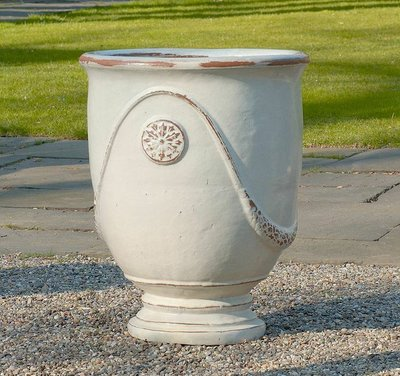 Glazed Anduze Urn Set of Four