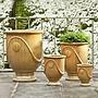 Glazed Anduze Urn Set of Four