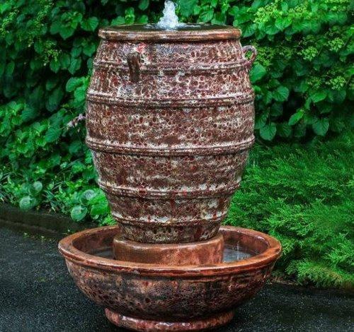 Glazed Corinth Fountain