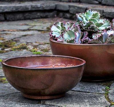 Glazed Yuma Bowl Set of Three