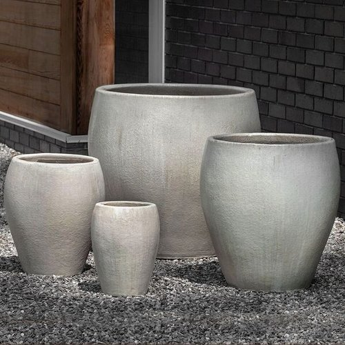 Glazed Chantal Planter Set of Four