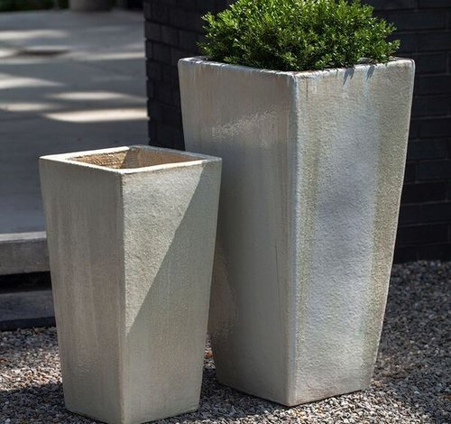 Glazed Giacomo Planter Set of Two