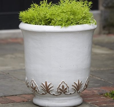 Glazed Gulf Planter Set of Two