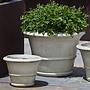 Glazed Vicolo Planter Set of Three