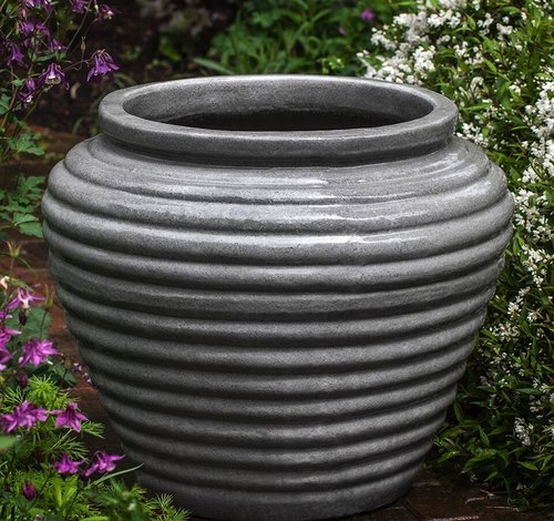 Glazed Boca Jar