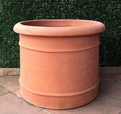 Italian Terracotta Enrico Cylinder