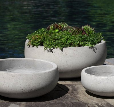 Fiberglass Rio Bowl Set of Three