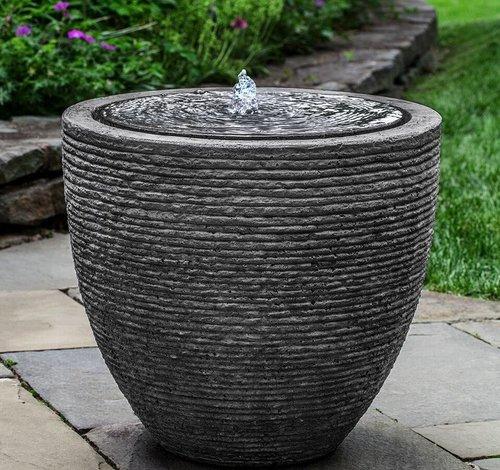 Fiberglass Stone Ledge Fountain