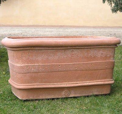 Italian Terracotta Tinozza