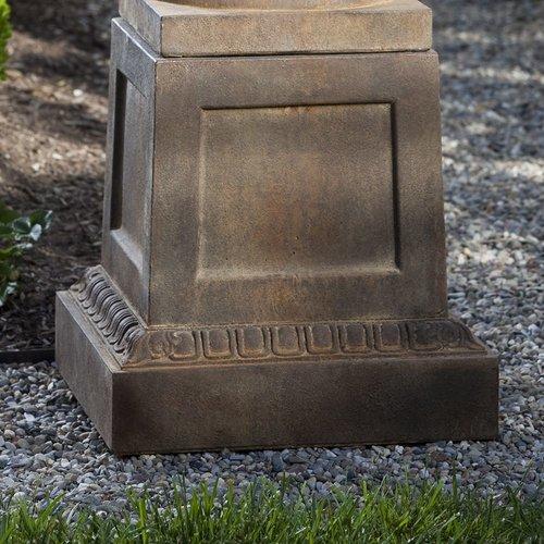 Cast Stone Jefferson Pedestal