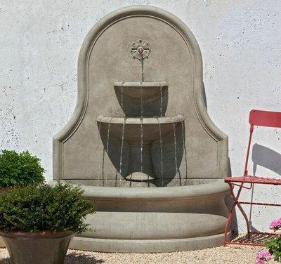 Cast Stone Estancia Wall Fountain