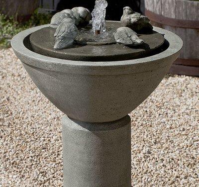 Cast Stone Passaros II Fountain