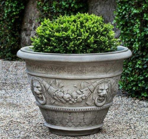 Cast Stone Rosecliff Planter