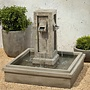 Cast Stone Pallisades Fountain