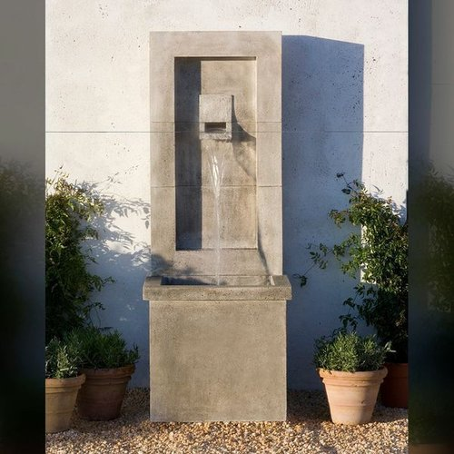 Cast Stone Moderne Fountain