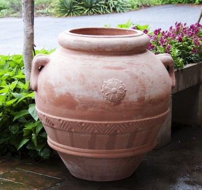 Italian Terracotta Orcio Classico Toscano