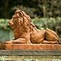 Cast Stone Classic Lion