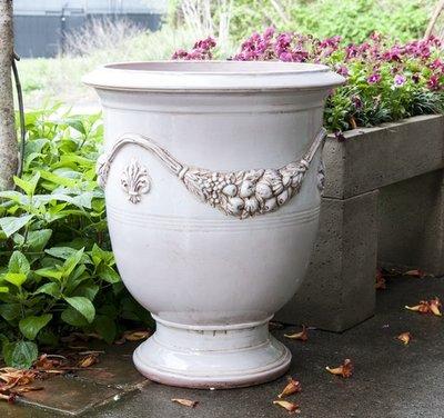 Italian Ceramics Ancient White Italian Anduze