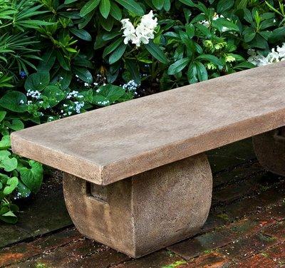 Cast Stone Ryokan Bench