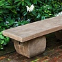 Cast Stone Ryokan Bench
