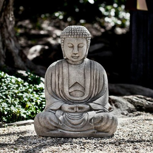 Cast Stone Kyoto Buddha