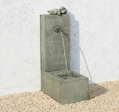 Cast Stone Bird Element Fountain