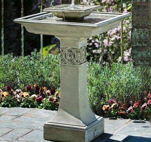 Cast Stone Portwenn Fountain