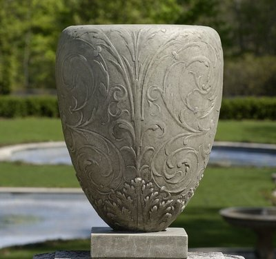 Cast Stone Longwood Arabesque Urn