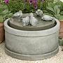 Cast Stone Passaros Fountain