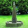 Cast Stone Palazzo Obelisk Fountain