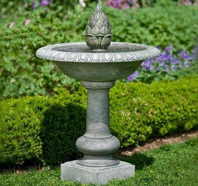 Cast Stone Williamsburg Pineapple Fountain